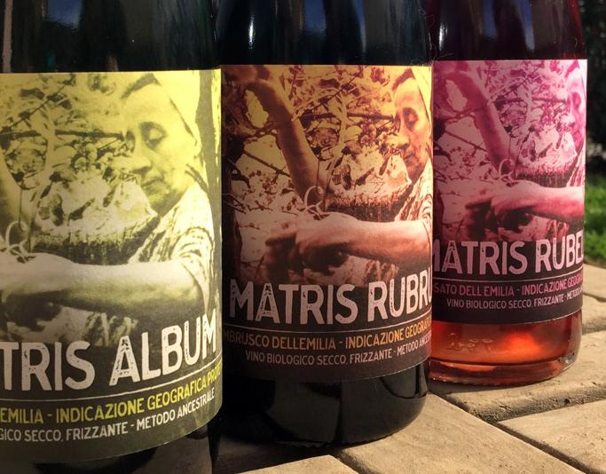 matris - wine labels