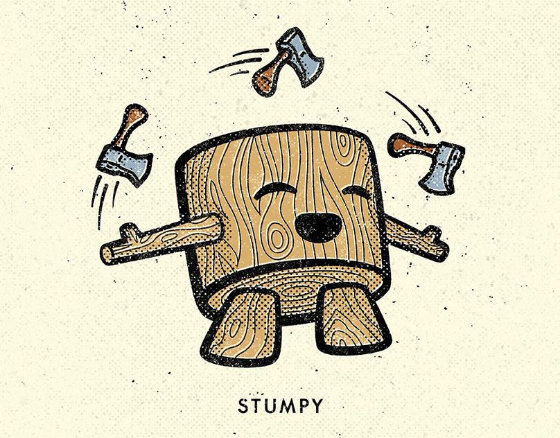 PRODUCT: SHOP-SMC - Stumpy