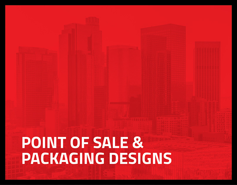 Point of Sale and Packaging Designs
