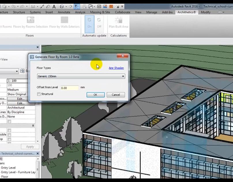 Floors by Rooms AUTODESK REVIT AddIn on Behance
