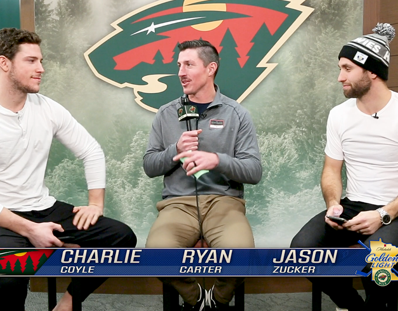 Two Truths And A Lie Jason Zucker And Charlie Coyle On Behance