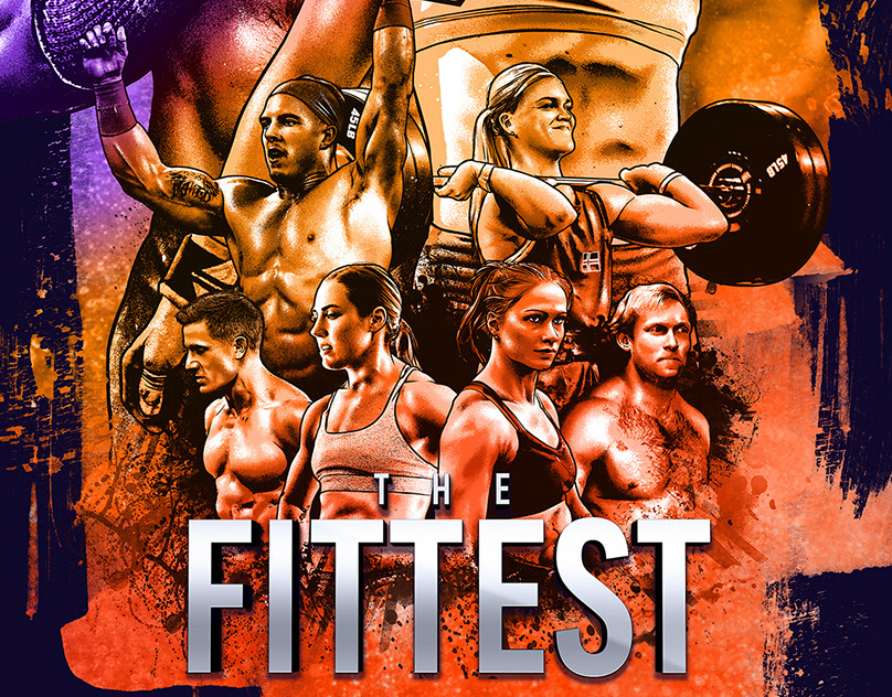 The Fittest: CrossFit Documentary Key Art