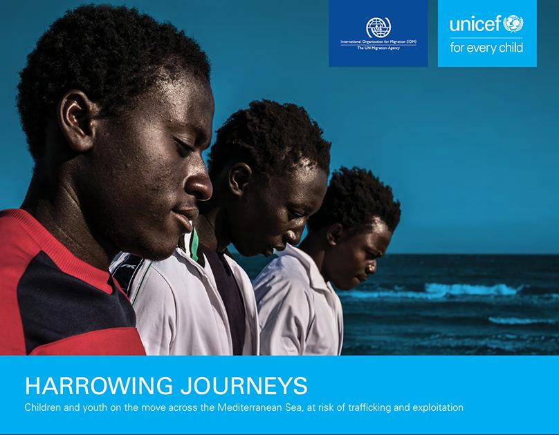 Harrowing Journeys (UNICEF report)