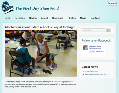 The First Day Shoe Fund