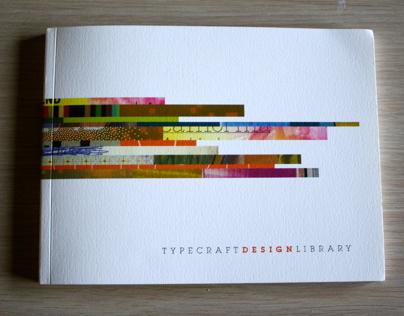 Typecraft Design Library Identity and Catalogue