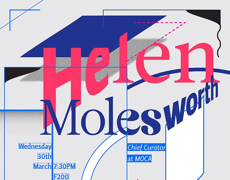 MOCA Helen Molesworth Lecture Poster