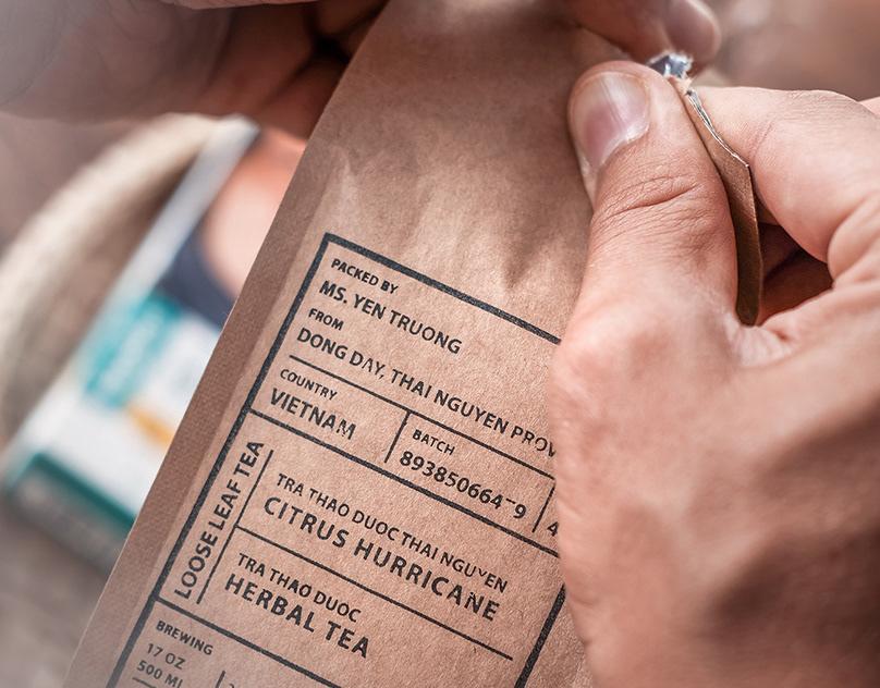 """Farmer's Teaâ""""¢ Product Photoshoot"""
