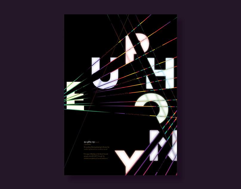 Euphony Typographic Poster