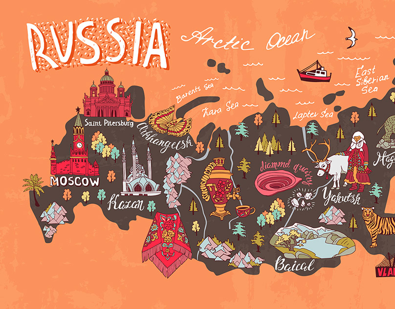 The men's guide to moscow, russia