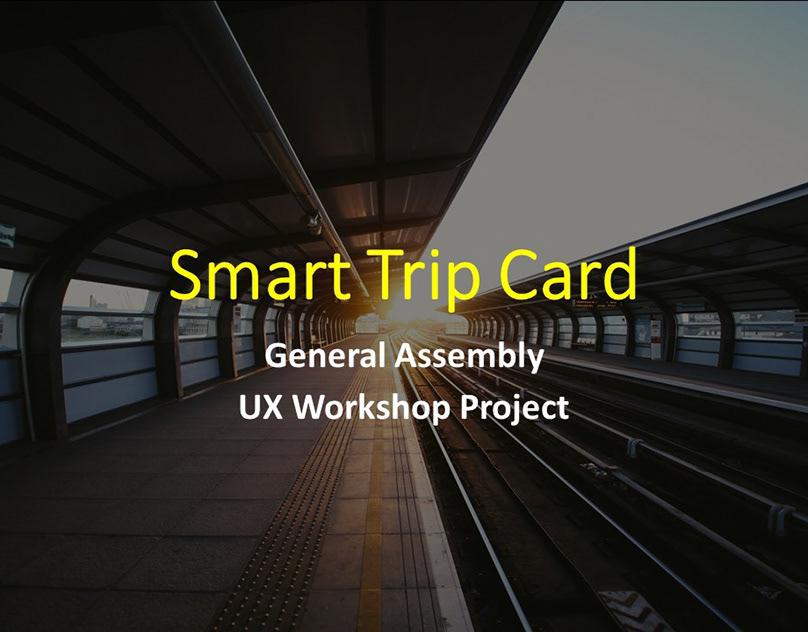 Smart Trip UX Project