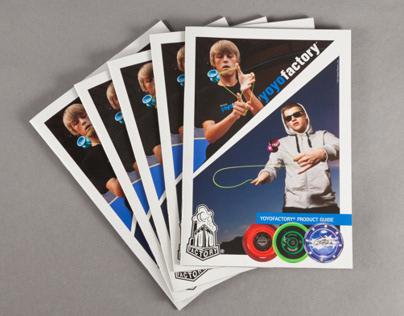 YoYoFactory Product Catalog 2011 - Layout & Design