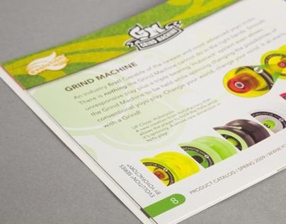 YoYoFactory Product Catalog 2009 - Layout & Design