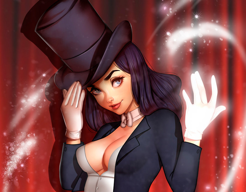 Zatanna cosplay by sylunahirokashi on deviantart