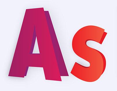 有設計感的39款AI文字設計欣賞