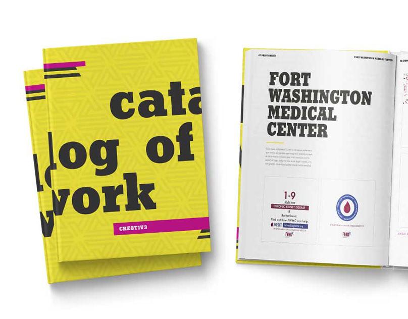 CRE8T1V3 Design Agency Catalog of Work
