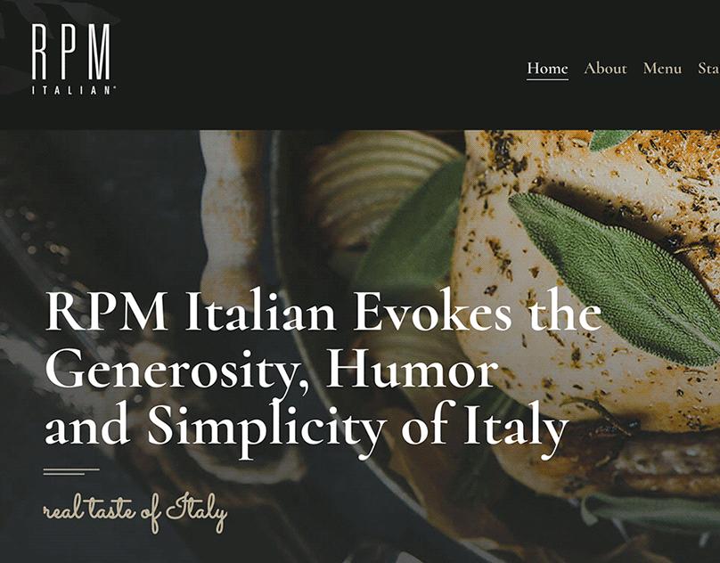 RPM Italian WordPress