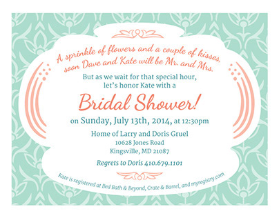 Lawless Bridal Shower