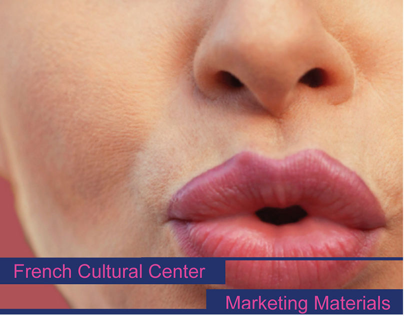 French Cultural Center   Marketing Materials
