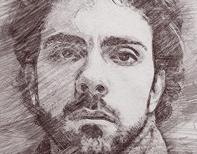 有美感的26套鉛筆素描作品欣賞