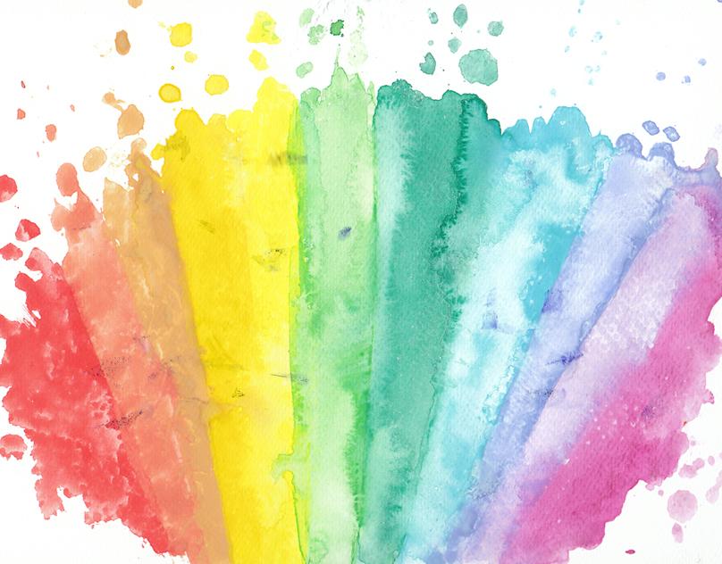 Цветные краски детям картинки