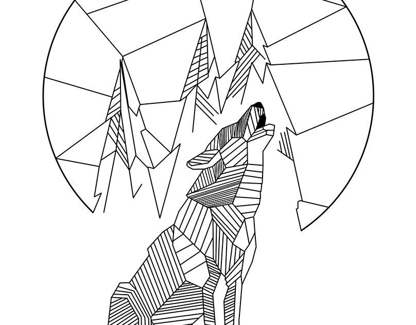 думается картинка волка из геометрических фигур время оглашения приговора
