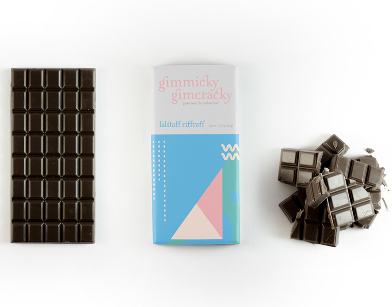 Gimmicky Gimcracky: chocolate bar packaging