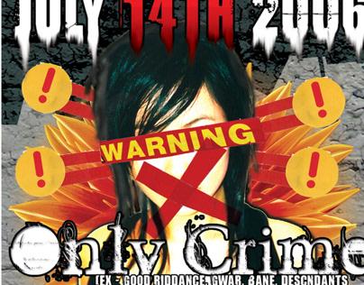 Flyer: Only Crime