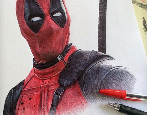 Deadpool Sketch On Behance