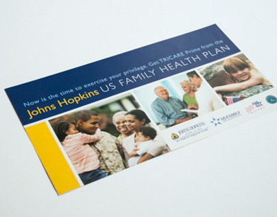 Johns Hopkins US Family Health Plan Mailers