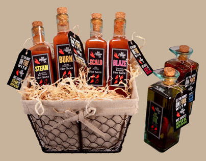 Hot Pepper Co. Hot Sauce Campaign