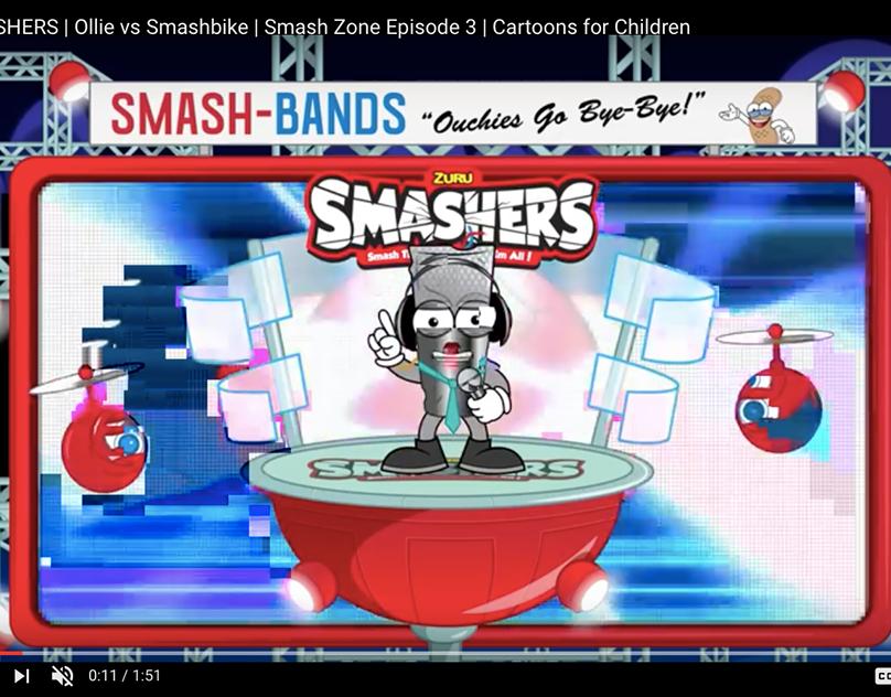 Smashers X Zuru Toys on Behance