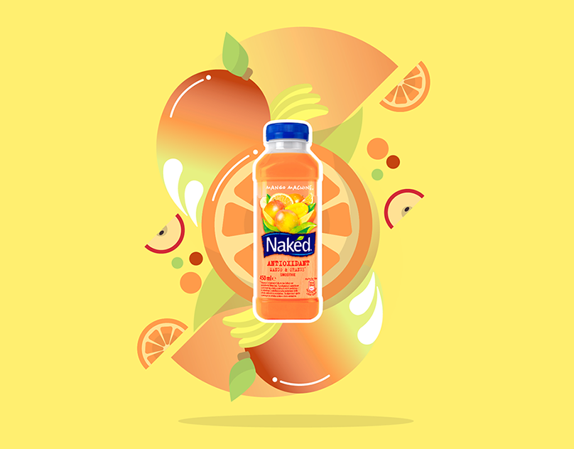 Naked juice posters on behance