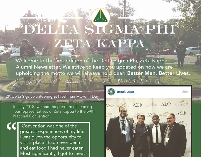 Zeta Kappa Newsletter