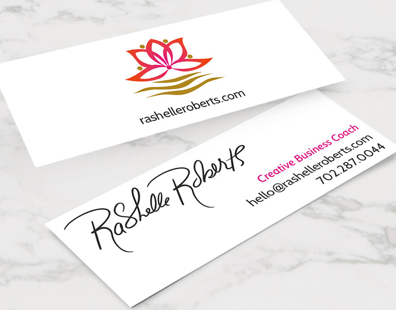 Branding and work for creative business coach