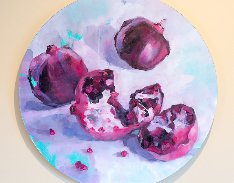 Fruit and Floral Oil Paintings / Winter-Spring 2017