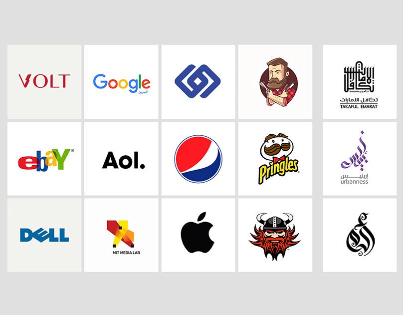 Types Of Logos أنواع الشعارات Www Jehad Co On Behance
