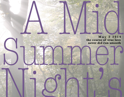 A Mid Summer Night's Dream Poster
