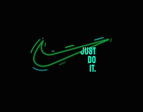 De este modo . Hecho para recordar  Nike Logo Animation on Behance