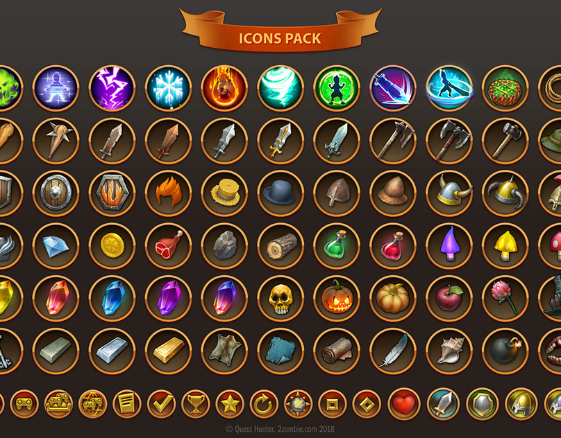 Download raid gold naked icon pack for android