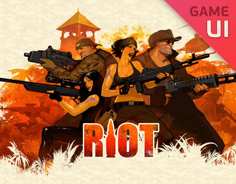 RIOT Social-network Game UI