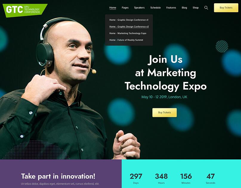 GPU Technology Conference WordPress