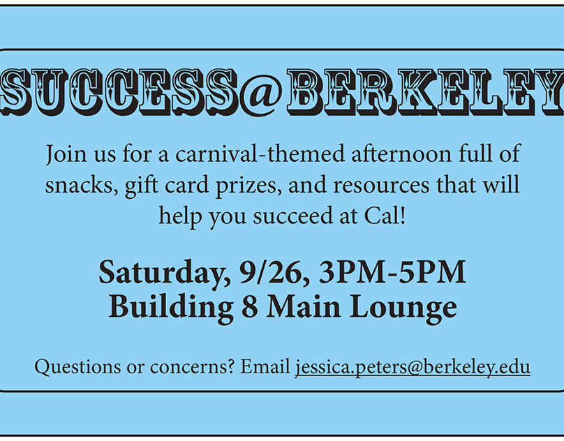 Success@Berkeley Postcard