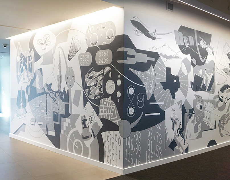 Technology Mural: Corporate Art Commission