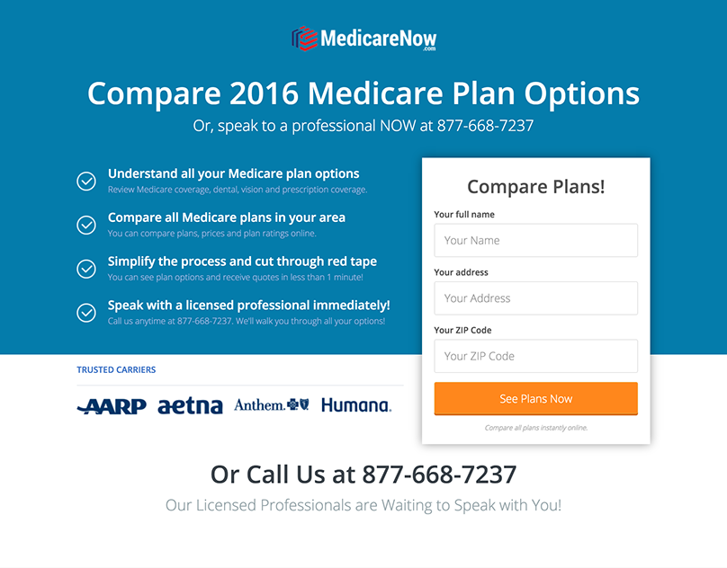 Medicare Plan Options