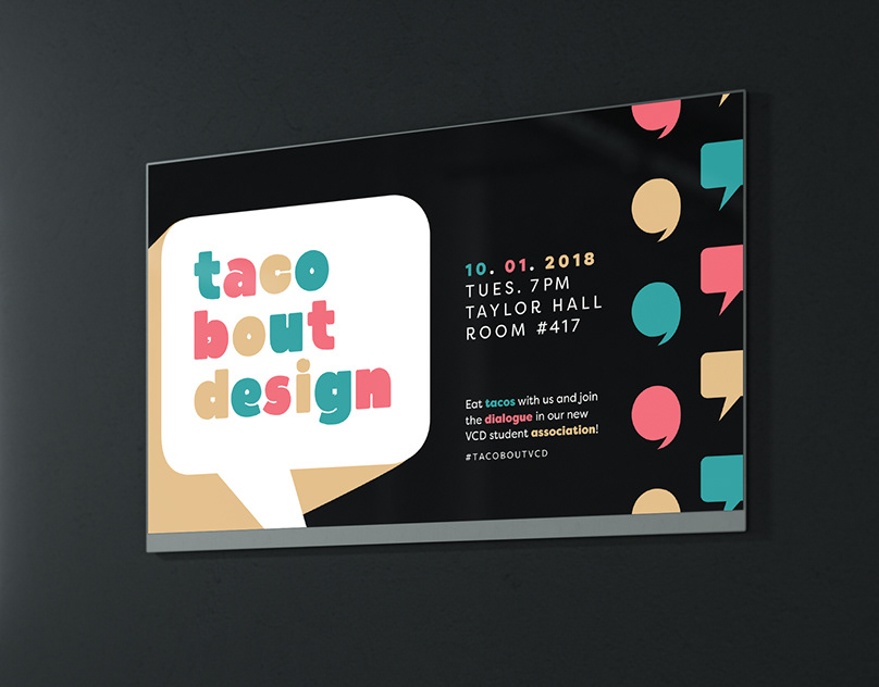 TacoBoutDesign: A Student Association for VCD