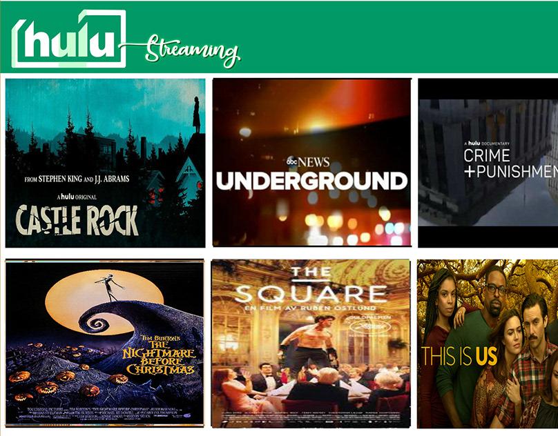 Hulu ReDesign Video Clip in Adobe Animate on Behance