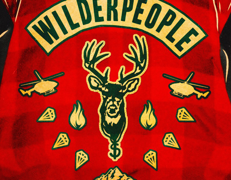 Hunt For The Wilderpeople (Movie Poster)