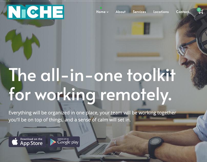 NICHE Coworking WordPress