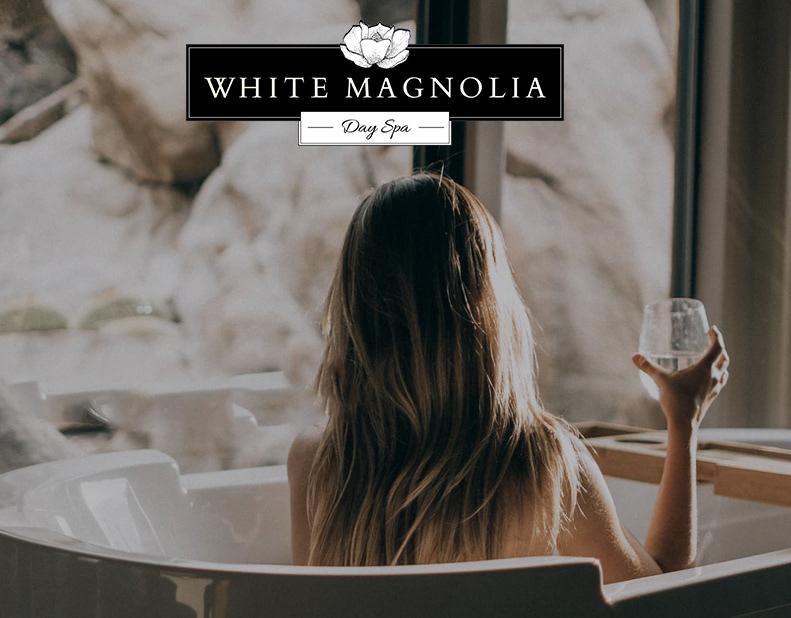 White Magnolia Day Spa WordPress