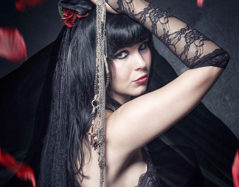 Model: Maria Katharina on Behance